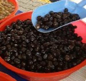 siyah sele zeytin 500 gr